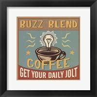 Coffeehouse II Framed Print