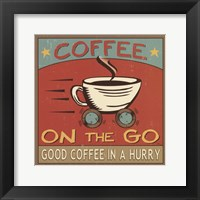 Coffeehouse III Framed Print