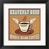 Coffeehouse IV Framed Print