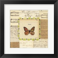 Hope Butterfly Framed Print