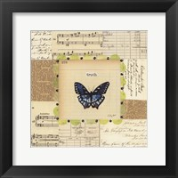 Truth Butterfly Framed Print