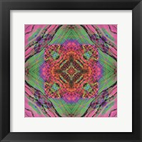 Framed Crystal Refraction #40