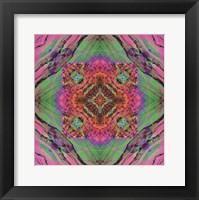 Framed Crystal Refraction #40