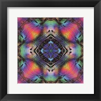 Framed Crystal Refraction #30