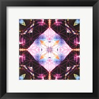 Framed Crystal Refraction #10