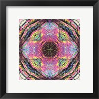 Framed Crystal Refraction #17