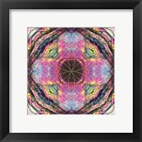 Framed Crystal Refraction #17