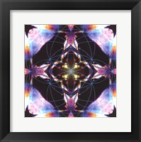 Framed Crystal Refraction #12