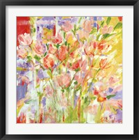 Framed Sherry's Tulips