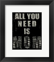 Framed All You Need is Mom