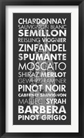 Wine Around the World Framed Print