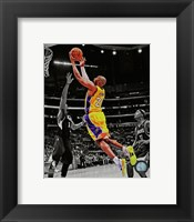 Framed Kobe Bryant 2012-13 Spotlight Action
