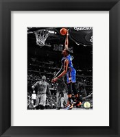 Framed Kevin Durant 2012-13 Spotlight Action