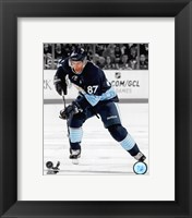 Framed Sidney Crosby 2012-13 Spotlight Action