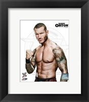 Framed Randy Orton Posed