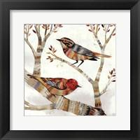 Framed Warblers I
