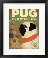 Framed Pug Flower Co.