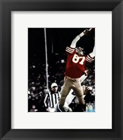 Framed Dwight Clark The Catch 1981 NFC Championship Game