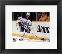 Framed Ryan Smyth 2012-13 Action