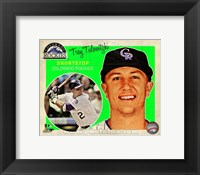 Framed Troy Tulowitzki 2013 Studio Plus