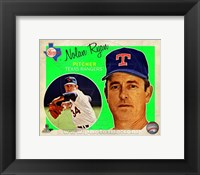 Framed Nolan Ryan 2013 Studio Plus