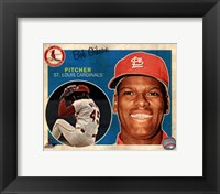 Framed Bob Gibson 2013 Studio Plus