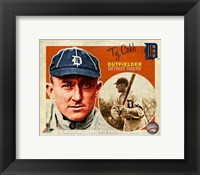 Framed Ty Cobb 2013 Studio Plus