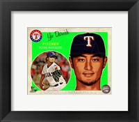 Framed Yu Darvish 2013 Studio Plus