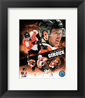 Framed Claude Giroux 2013 Portrait Plus