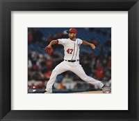 Framed Gio Gonzalez 2013 in Action