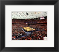 Framed Carrier Dome Syracuse University Orangemen 2013