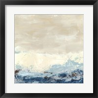 Coastal Currents II Framed Print