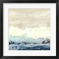 Coastal Currents I Framed Print
