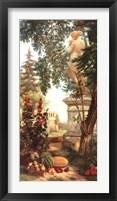 Framed Panneau décoratif aux fruits