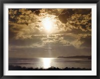 Framed Malibu Sunset
