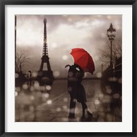 Framed Paris Romance