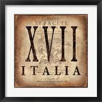 Framed Italia