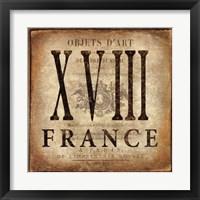 Framed France