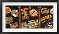 Framed Vintage Voyage