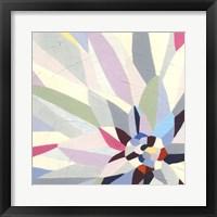 Framed Geometric Dahlia II