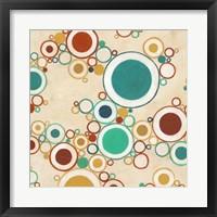 Molecular Landscape I Framed Print