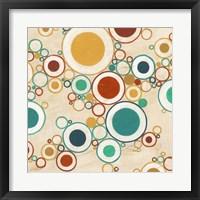 Molecular Landscape II Framed Print
