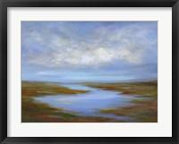 Framed Pescadero Wetlands