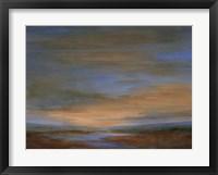 Framed Wetlands Sunset