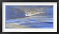 Framed Surfer's Beach Sky