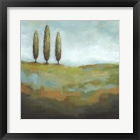 Framed Singing Trees I