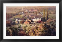 View From the Vineyard I Framed Print
