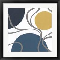 Non-Embellished Orbital I Framed Print