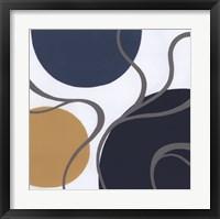 Non-Embellished Orbital II Framed Print