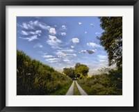Framed Magritte Morning